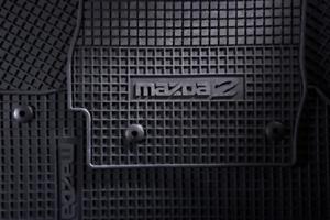 mazda 2 DE Gummimatten Fußmatten Allwettermatten Orginal DF71-V0-351C