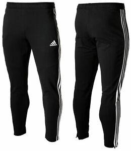 Adidas-Men-039-s-Tiro-19-French-Terry-Pants-Training-Tapered-Sport-Black-Bottoms