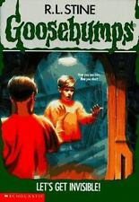 Goosebumps: Let's Get Invisible! No. 6 by R. L. Stine (1993, Paperback)
