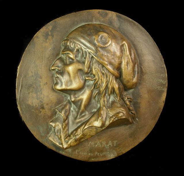 Medallón Marat el amigo del pueblo
