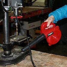 Electric Mini Air Blower Portable Vac Leaf Car Auto Garage Blowing Dryer 600W