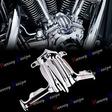 Chrome Tappet / Lifter Block Accent Cover for Harley Twin Cam 00-17 Dyna Parts