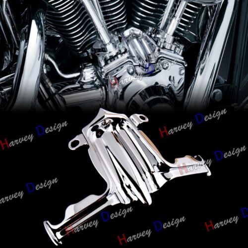 Lifter Block Accent Cover for Harley Twin Cam 02-16 Road King Chrome Tappet