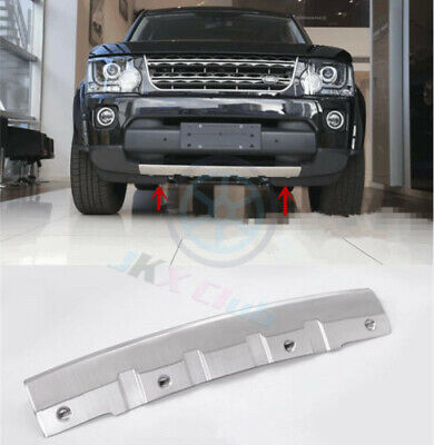 YIWANG 304 Stainless Car Front Bumper Sill Plate Protector Cover Trim Stickers 1pc for Land Rover Discovery 4 LR4 2014-2017 Car Accessories