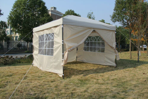 Erscheinen Heavy Duty Garten-Pavillon 3x3m 2x2m Hochzeit Zelt Markise Baldachin