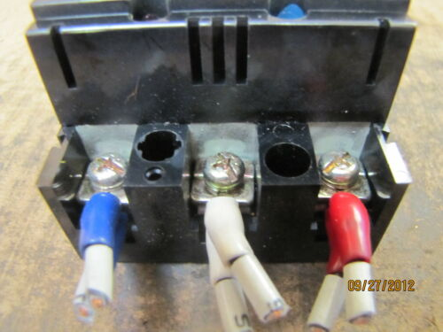 Mitsubishi Circuit Breaker NF30-CS NF30CS 5A 5 A Amp 3P 500VAC Lot of 2 Used