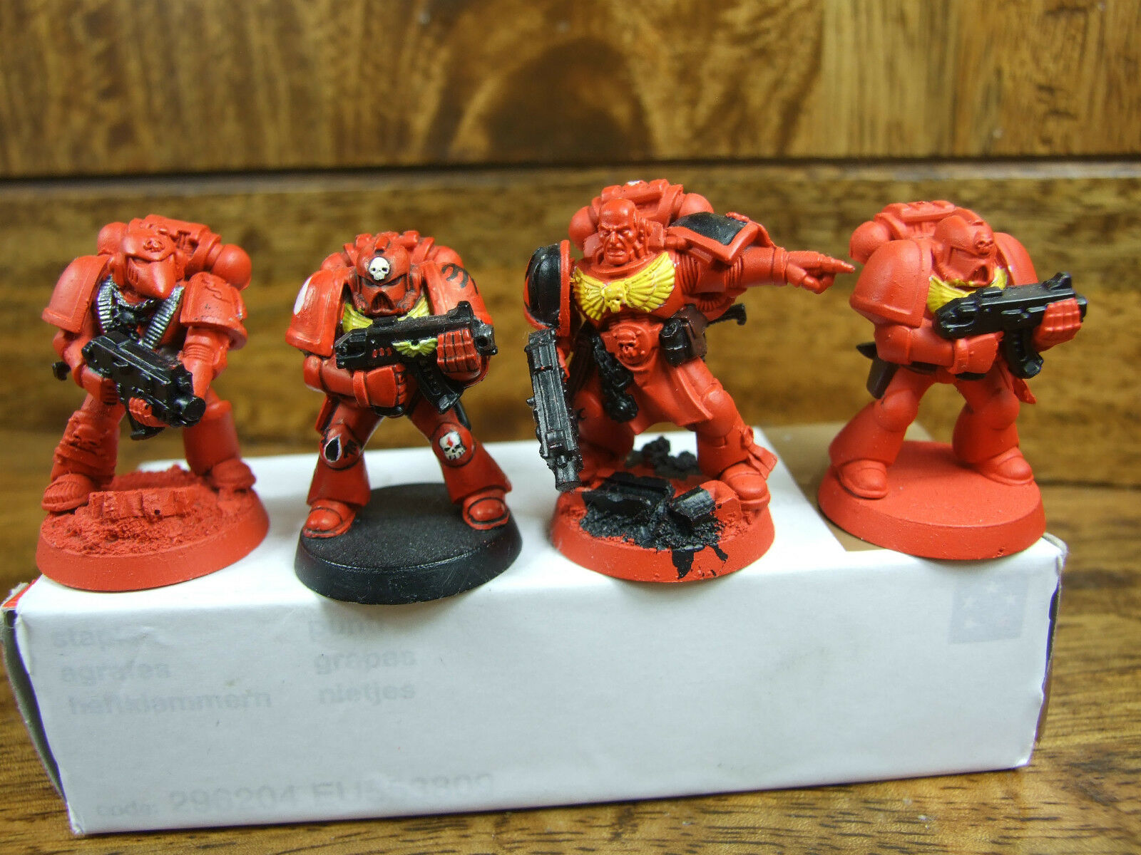 23 METAL AND PLASTIC BLOOD ANGELS SOME NICE CONVERSIONS CONVERSIONS CONVERSIONS PART PAINTED (504) fcb563