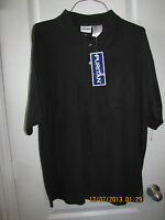 Puritan Casual Golf Shirt Big Man Size 2xl Black Short Sleeve