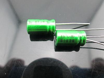 2pcs Nichicon MUSE ES BP BI-POLARIZED for Audio HiFi Green Capacitor Caps