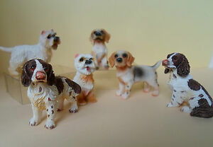Dolls-House-Miniature-Animals-Dogs-Beagles-Westies-Spaniels-Resin-1-12