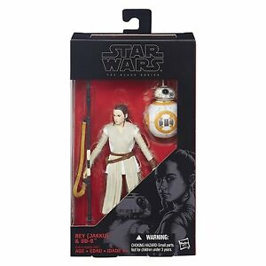 02 Rey BB-8 6 Inch Mint On Card Star Wars the Black Series