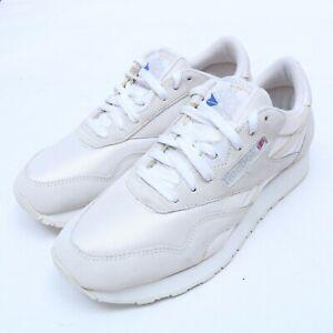 Reebok 1-6390 Classic Vintage Nylon Athletic Running Shoes Size 8