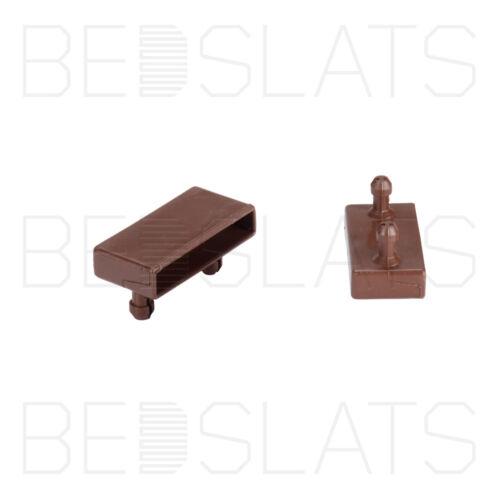 53mm Bed Slat Holders// Side Caps for Side Rails on Metal Tubular Bed Bases