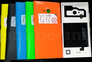 sale retailer 19a9a 0d6d8 Details about Wireless Charging Clip On Back Cover Case Housing for Nokia  Lumia 730 735 NEW