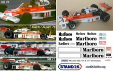 Decals Marlboro McLaren M23 Hunt Mass South African GP 1976 1//43e