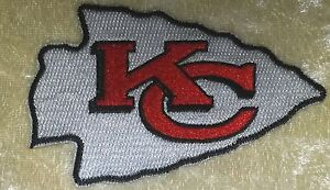 Kansas-City-Chiefs-Big-3-5-034-Iron-On-Embroidered-Patch-US-Seller-FREE-Ship