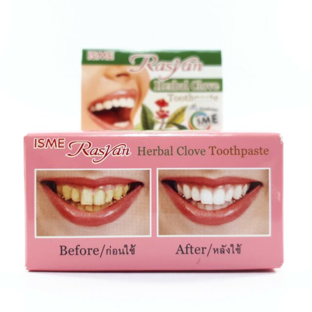 Rasyan Thai Herbal Clove Toothpaste Whitening Teeth Gum And Oral