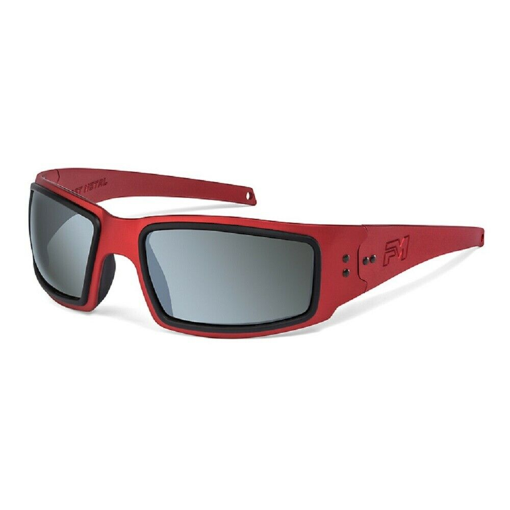 New Fast Metal Red Speed Demon Flash Beryllium Polarized Lens Sunglasses
