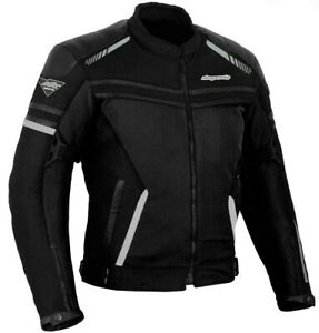 RKSports-Mesh-1535-Motorcycle-Motorbike-Jacket-Armored-Mens-ladies