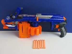 NERF N STRIKE ELITE HAIL FIRE motorised DART GUN SET LOT inc darts toy working - <span itemprop=availableAtOrFrom>whitchurch, Shropshire, United Kingdom</span> - Happily accepted only if the item does not sufficently match the item description. Refund of money only when item is back in my hands and in the same condition as dispatche - whitchurch, Shropshire, United Kingdom
