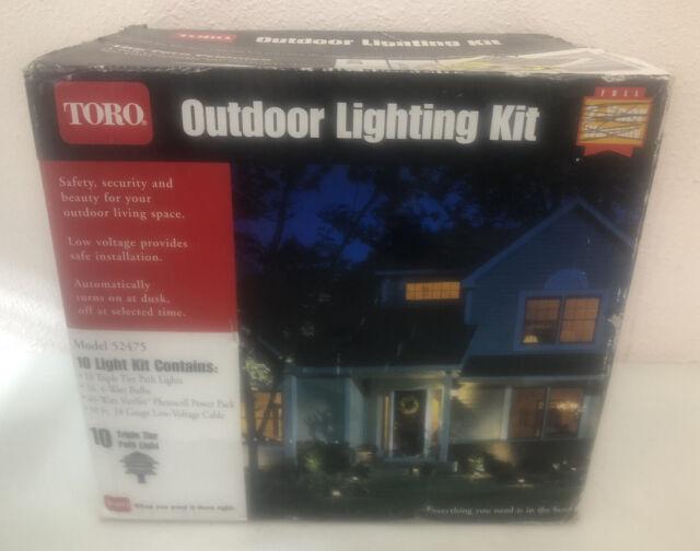 Toro Outdoor Landscape 16 Double Tier Path Light Kit Model 52242 For Sale Online Ebay