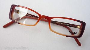 Mexx-Brillenfassung-in-aussergewoehnlichen-Erdfarben-Metallbuegel-schmal-TOP-sizeS