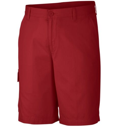 """New Mens Columbia Red Bluff Hiking Camping Cargo Shorts Inseam 10/"""""""