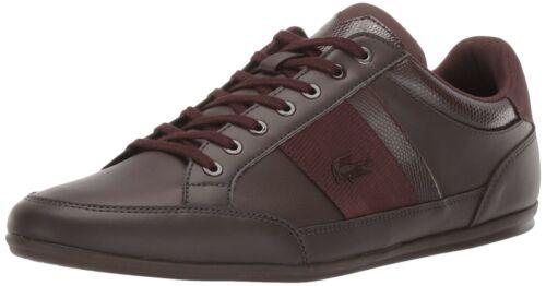 Lacoste Men/'s Chaymon 119 Casual Sneaker Dark Brown