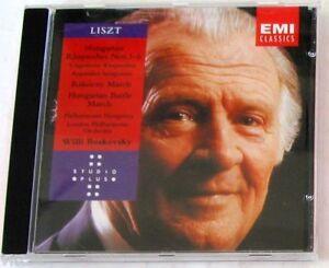 LISZT F. - HUNGARIAN RHAPSODIES1-6 Etc. - BOSKOVSKY - CD Nuovo Unplayed - Italia - LISZT F. - HUNGARIAN RHAPSODIES1-6 Etc. - BOSKOVSKY - CD Nuovo Unplayed - Italia