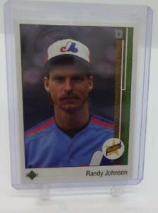 1989 Upper Deck #25 Randy Johnson RC Rookie Expos Mint