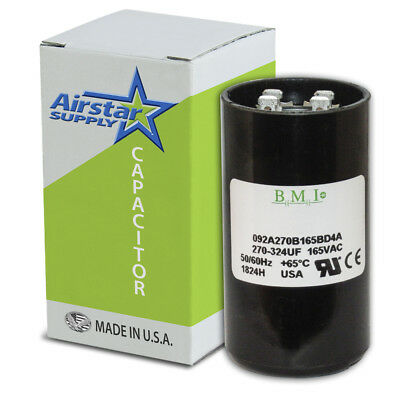 PTMJ270 Packard Aftermarket Replacement Motor Start Capacitor 270-324 MFD 220 250 Volt