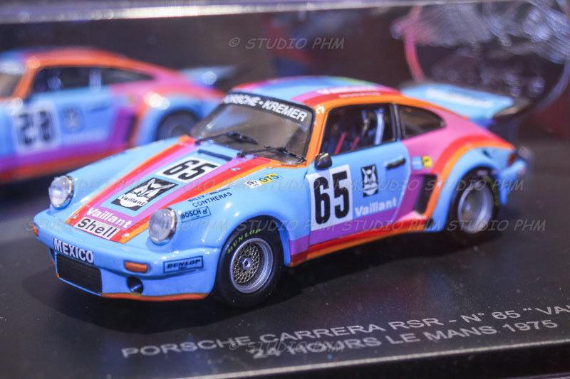 PORSCHE 911Carrera RSR RSR RSR N°65 VAILLANT KREMER 24H du MANS 75 1 43 PHM No Spark af32f7