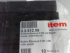 item 0.0.612.99 Rollenelement 8 80 mit Bordkante ESD Profil Aluminiumprofil Alu