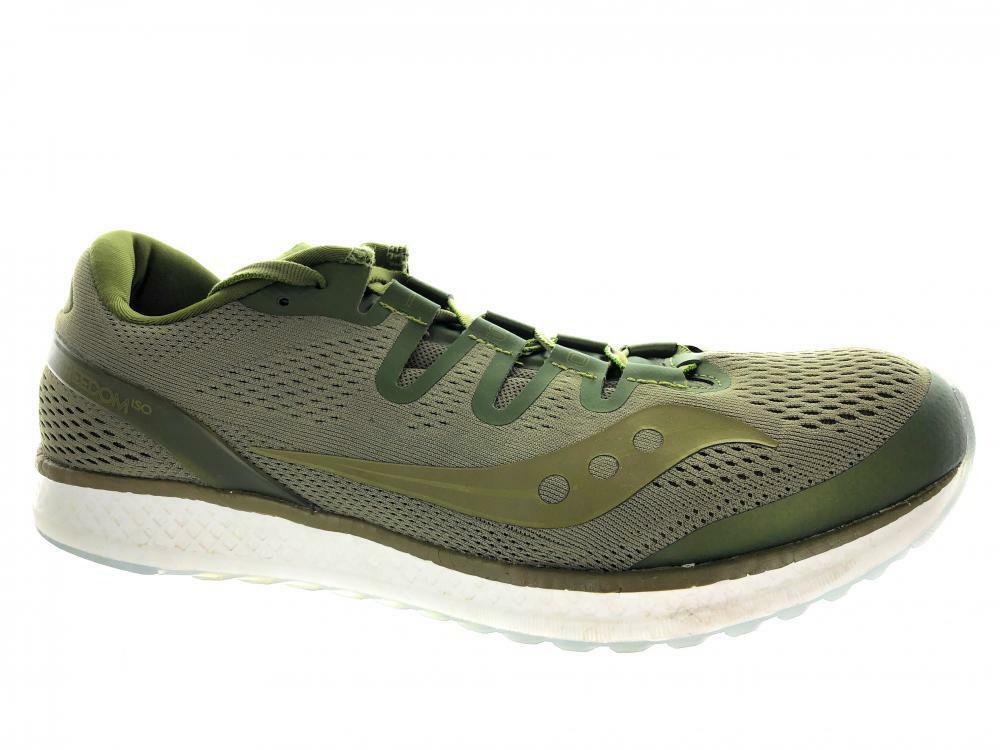 Men's Saucony Freedom ISO S20355-53  Running Athletic shoes Olive  will make you satisfied