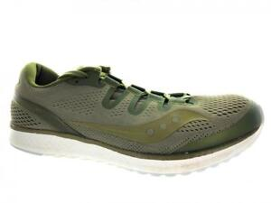 Men-039-s-Saucony-Freedom-ISO-S20355-53-Running-Athletic-Shoes-Olive