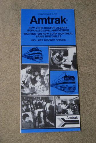 June 15 New York Boston.... Amtrak 1976