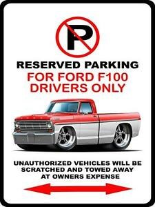 Ford Reserved Parking Sign FORD GIFT