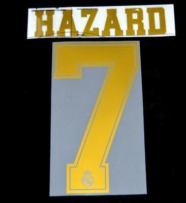 Real Madrid Benzema 9 2016-17 Football Shirt Name//Number Set Away Sporting ID