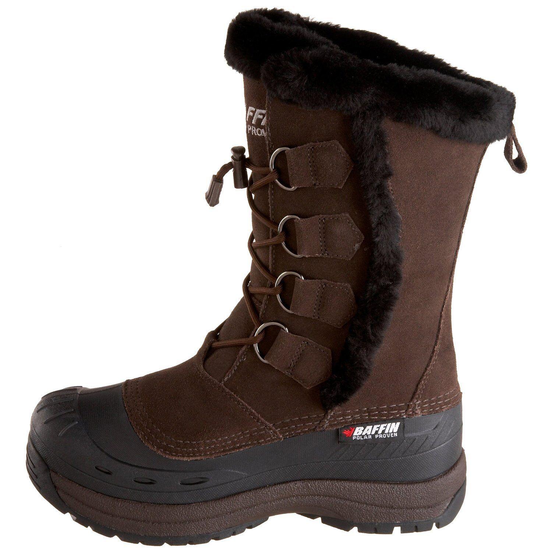 Baffin botas de invierno Chloe-marrón-impermeable - 4510-0185 - hasta -40 ° C