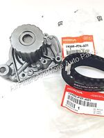 Genuine Honda Civic & Civic Del Sol Water Pump & Timing Belt Acura El
