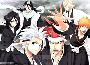 Poster A3 Bleach Manga Anime Cartel Decor Otaku Impresion 03