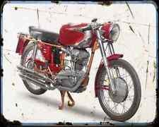 Ducati 200 Elite 59 A4 Photo Print Motorbike Vintage Aged