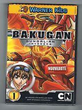 BAKUGAN - GUNDALIAN INVADERS - VOLUME 1 - DVD NEUF NEW NEU