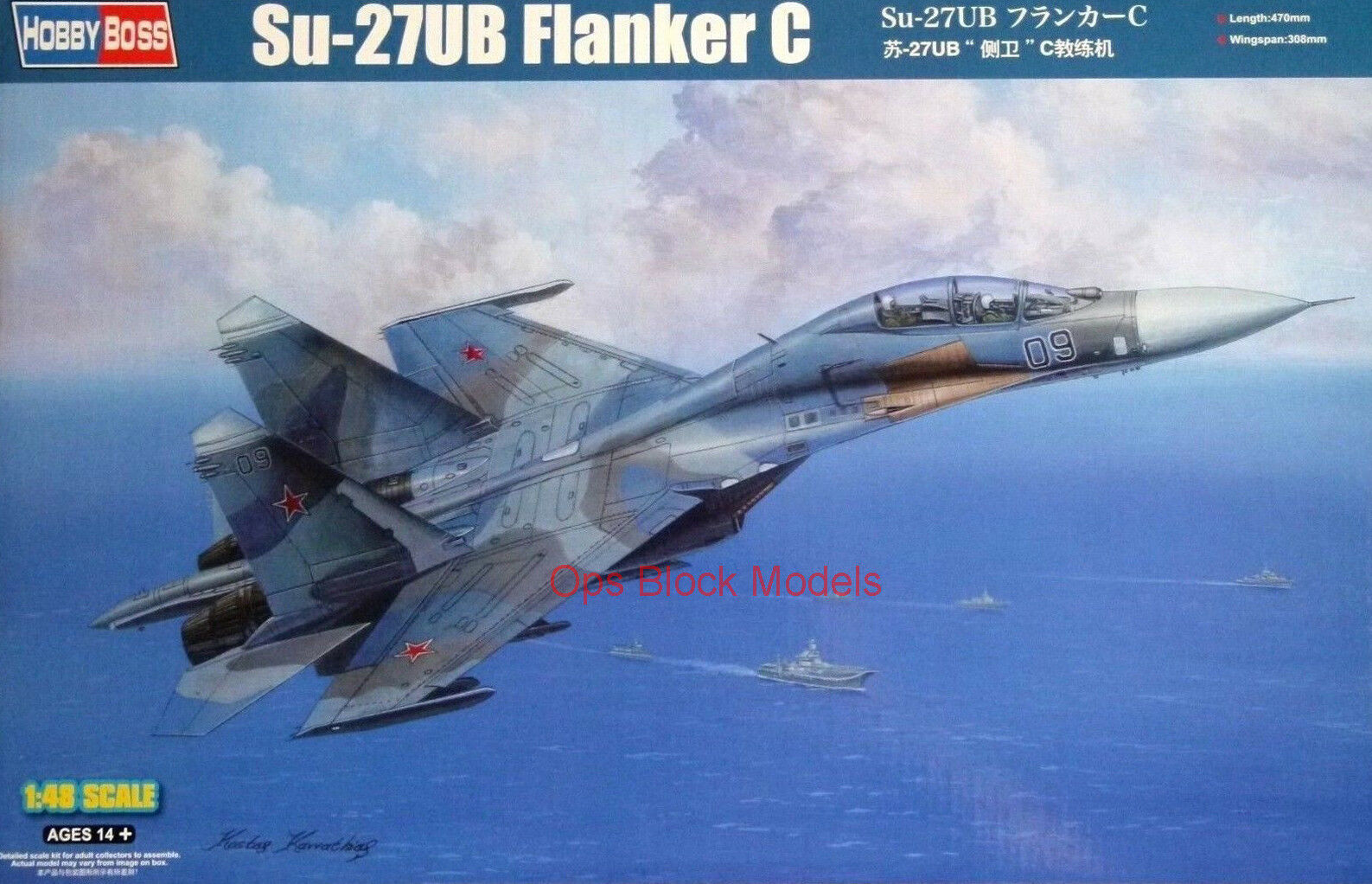HOBBYBOSS 1 48 SUKHOI Su-27UB FLANKER C
