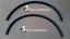 SMART FORTWO 451 207-13 2 archi passruote in plastica nera modello stretto