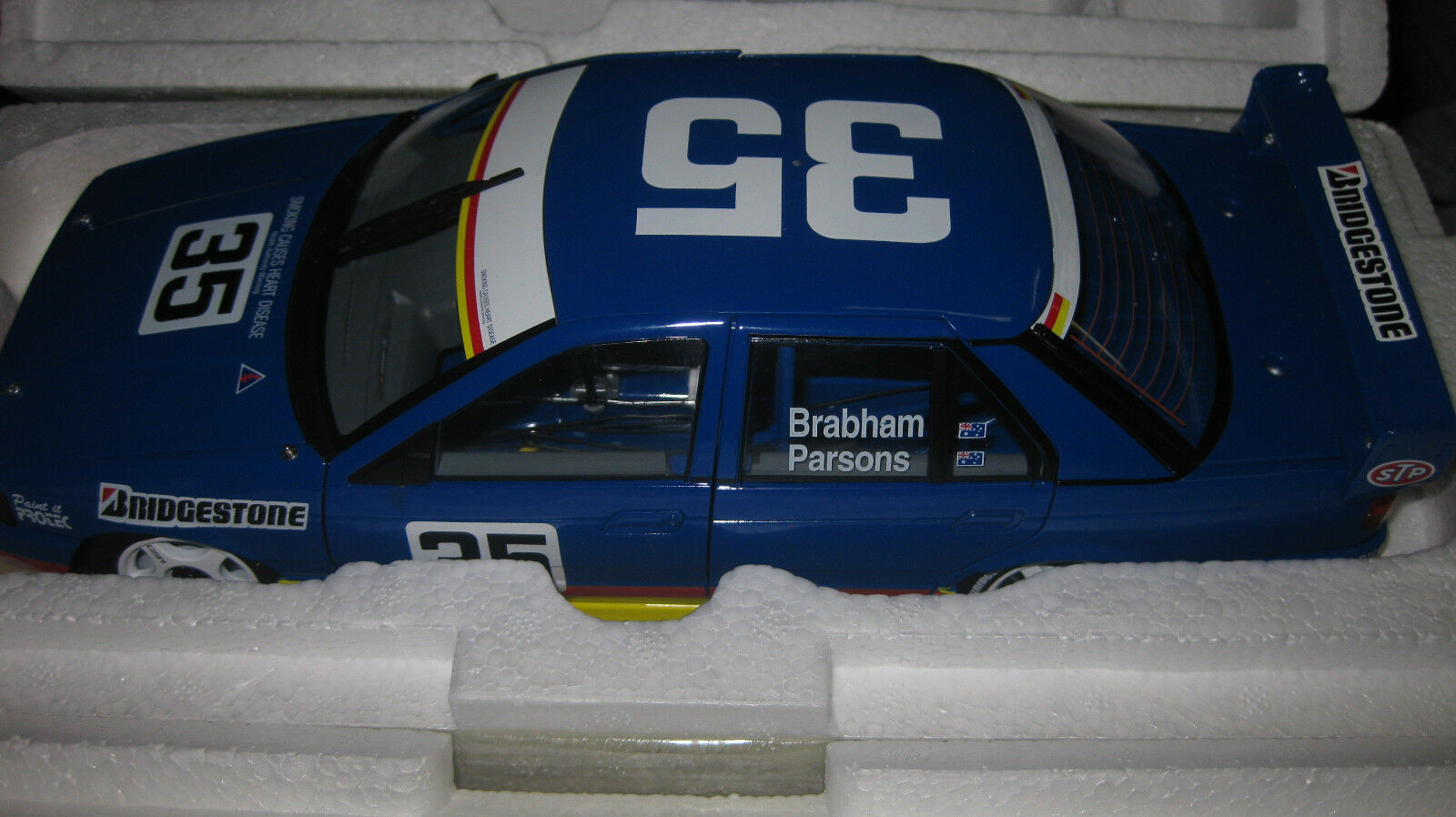 BIANTE 1 18 FORD FALCON EB G BRABHAM & D PARSON  35 1993 SANDOWN WINNER ONLY 204
