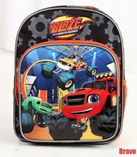"Blaze And The Monster 10"" Small Toddlers Backpack Bag For Kids Boys Bag USA SHIP"