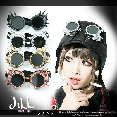 Steampunk revolution cosplay Porco Rosso spike frame pilot goggles J1A401