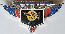 Hard Rock Cafe CHINA (BEIJING) 1997 July 4th PIN Eagle Wings Flags PIN HRC #1116