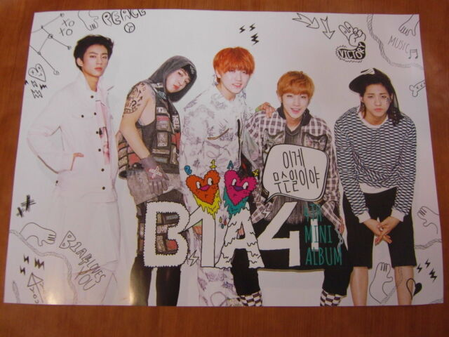 B1A4 - 4th Mini Album [OFFICIAL] POSTER *NEW* K-POP